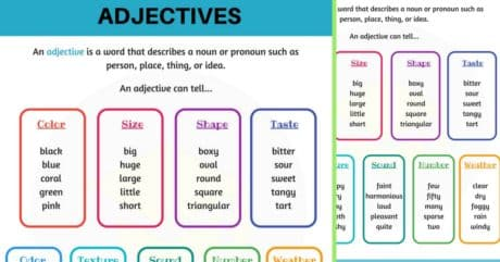 English Adjectives: A Complete Grammar Guide 21