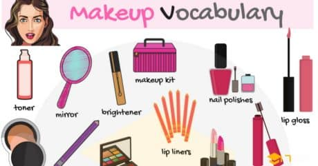 Makeup and Cosmetics Vocabulary with Picture 56