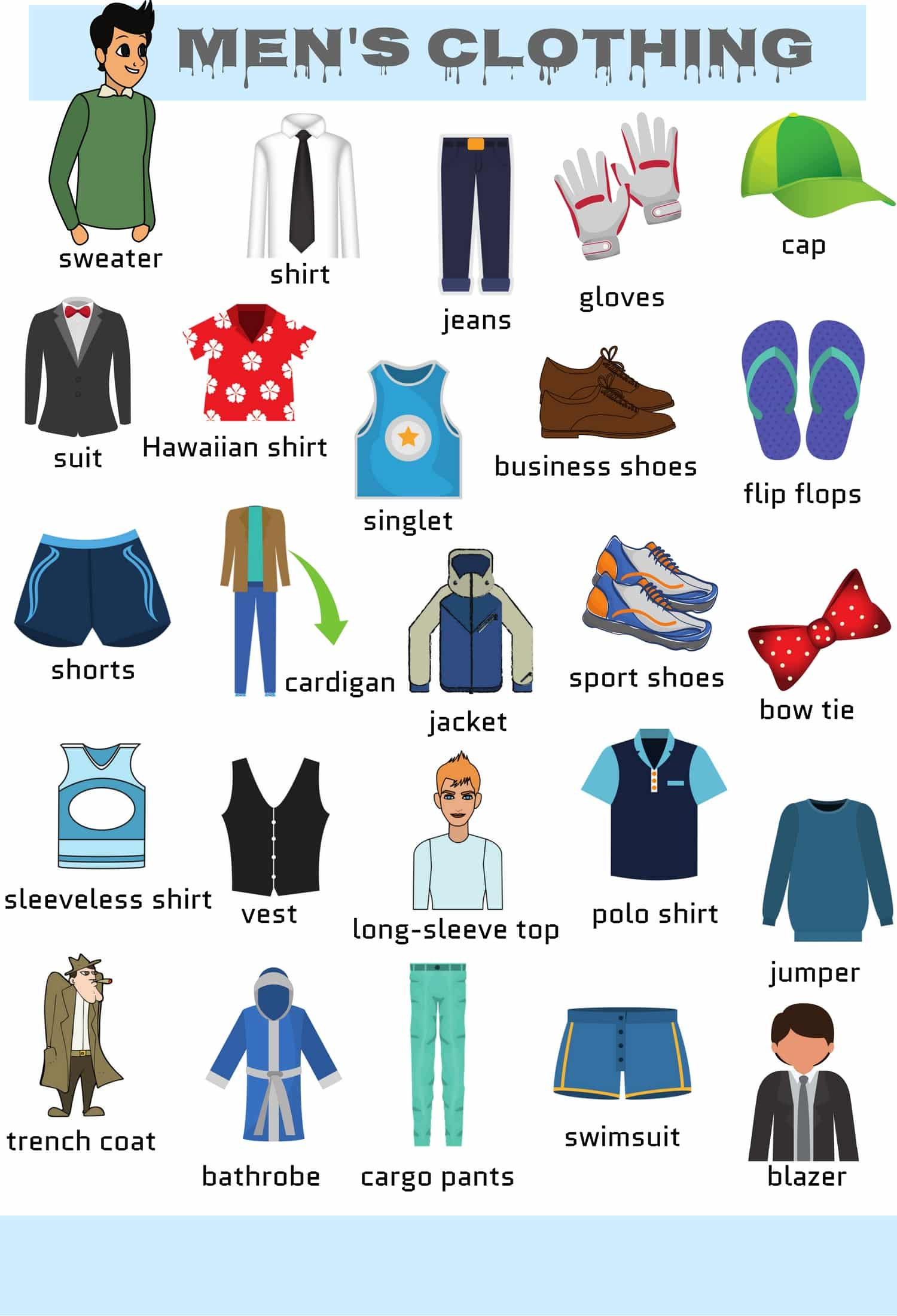 garments vocabulary garment