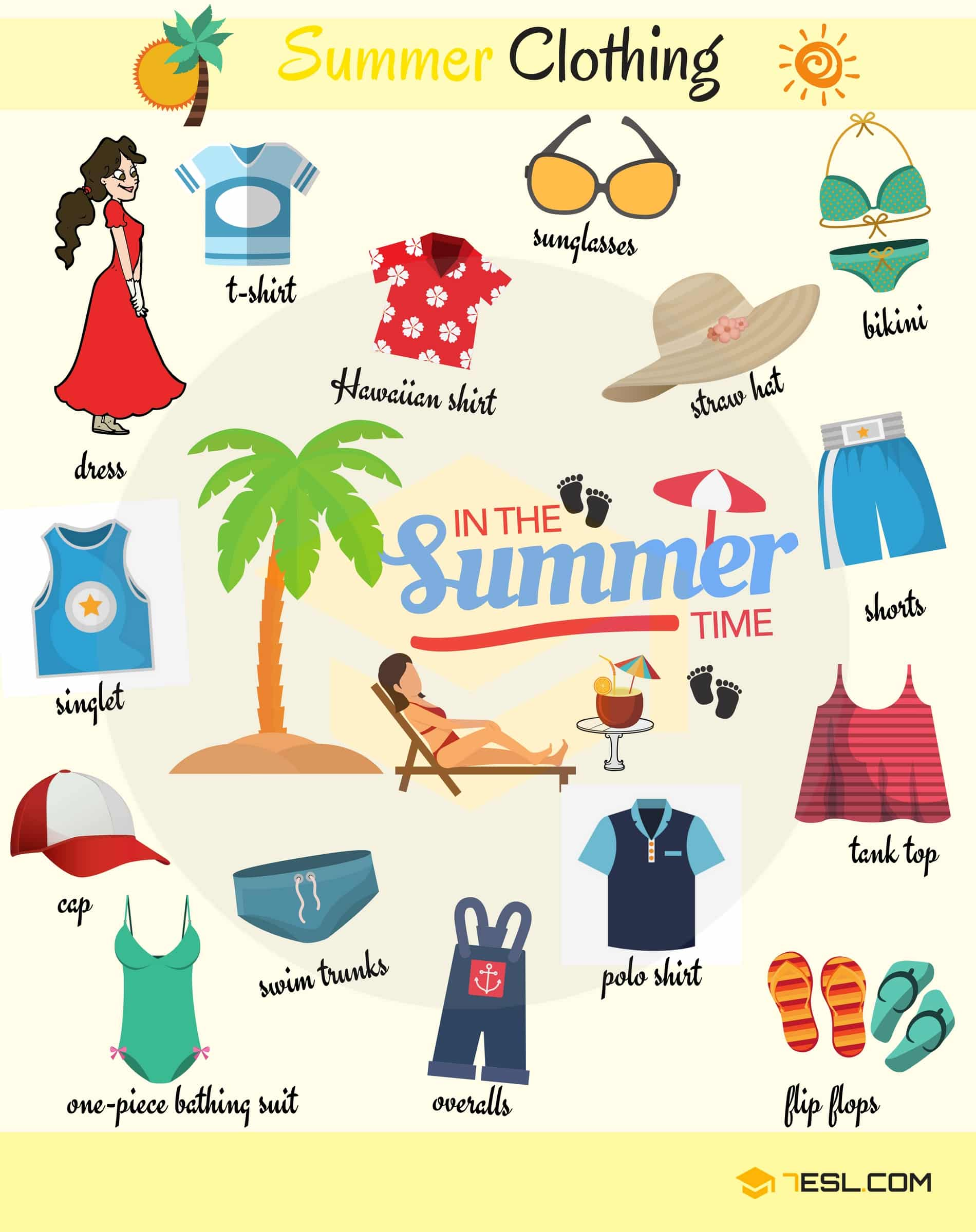 Clothes names list in english with pictures pdf