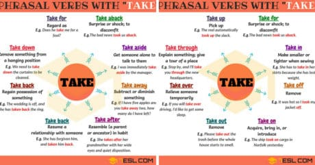 60+ Useful Phrasal Verbs with TAKE (with Meaning and Examples) 20