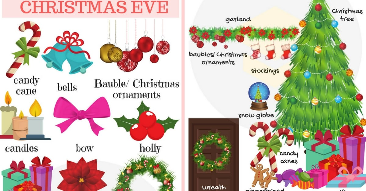 Christmas Vocabulary | Learn English with Pictures 34