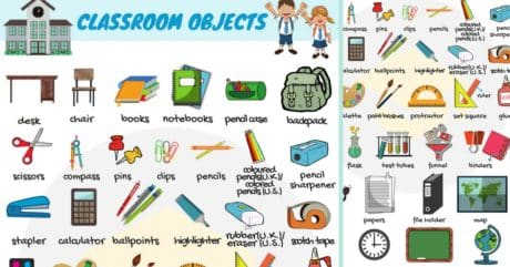 Classroom Objects in English | Classroom Vocabulary 15