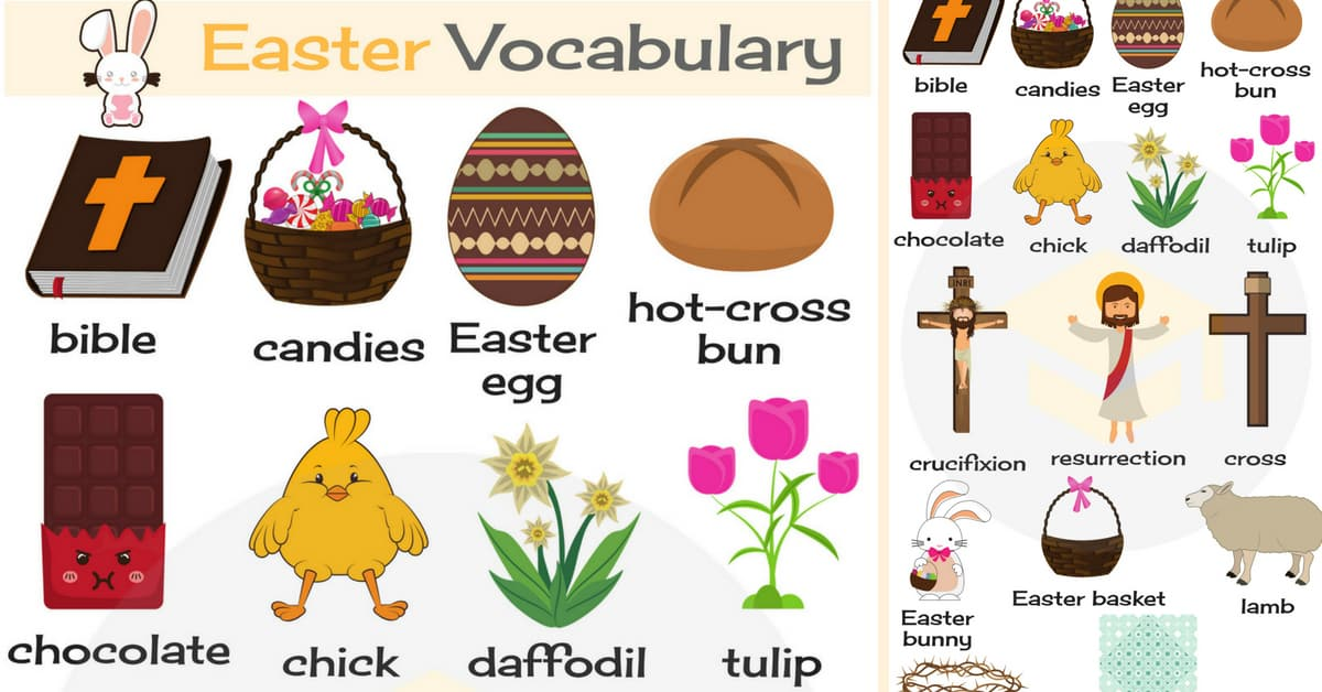 Easter Words: Useful Easter Vocabulary Words in English 1