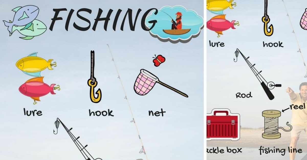 Fishing Vocabulary in English | Talking about Fishing 1