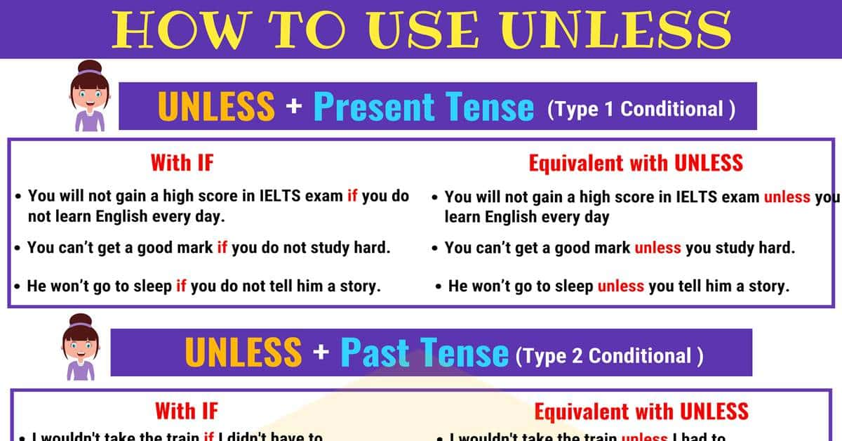 How to Use UNLESS: Useful Definition & Examples 1
