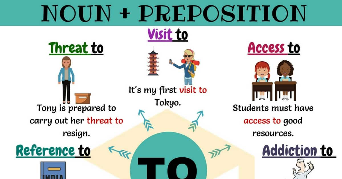 Nouns & Prepositions: 25 Common Collocations with TO 1