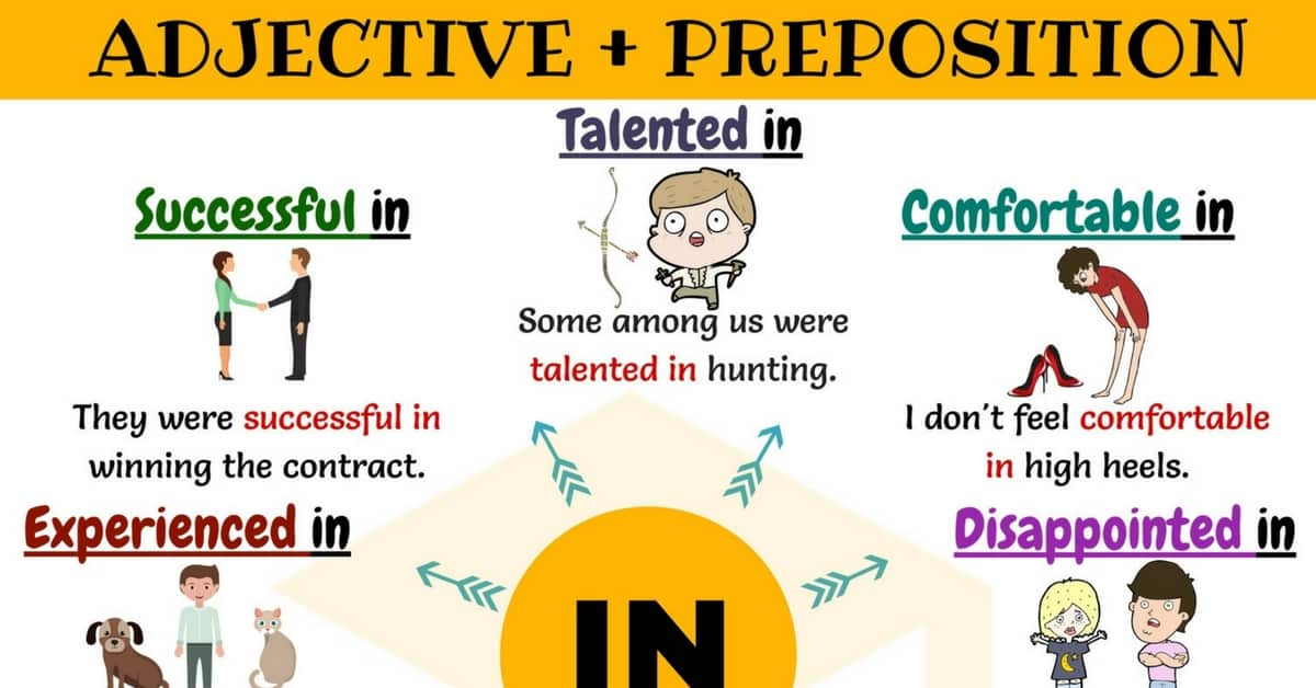 Adjective + IN: 30+ Useful Adjective Collocations with IN 1