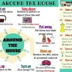 17 Useful Phrasal Verbs Around the House in English