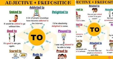 50+ Common Adjective and Preposition Collocations | TO 38