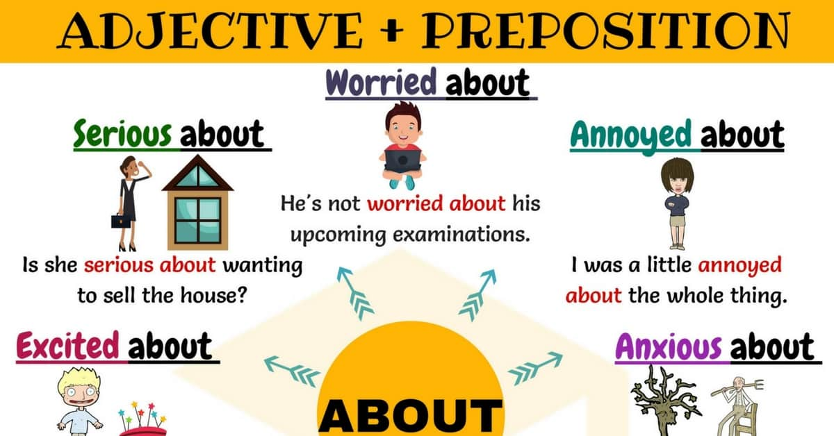 Adjectives & Prepositions: 30+ Common Collocations with ABOUT 1