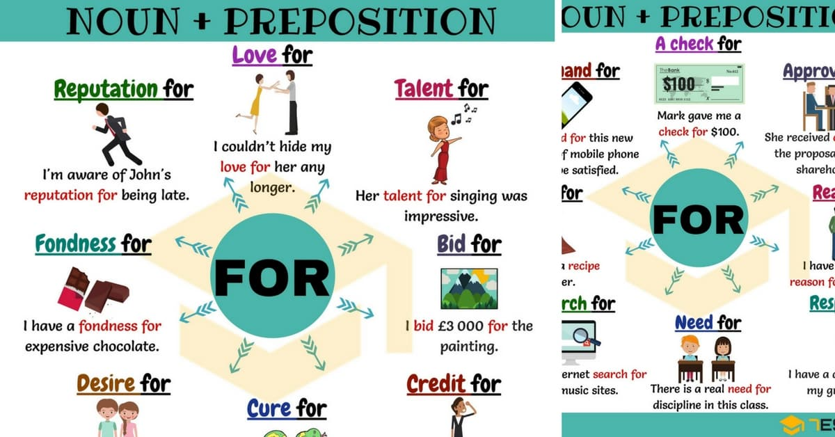 Noun + For: 25 Common Noun Collocations with FOR 1
