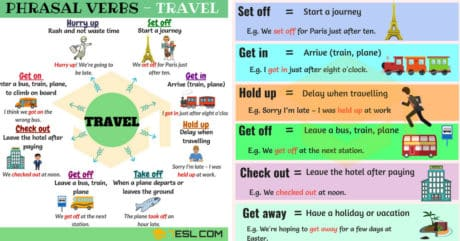19 Useful Phrasal Verbs for Travel in English 10