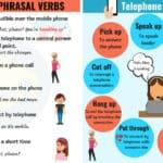 17 Useful Telephone Phrasal Verbs in English