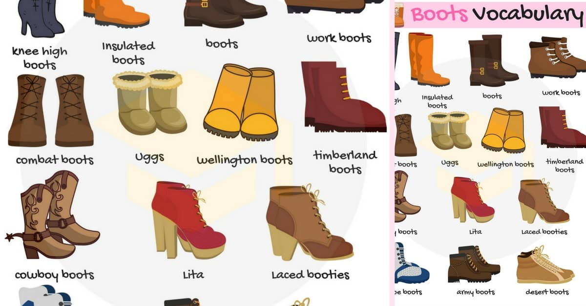 Types of Boots: Useful Boot Names with Pictures 1