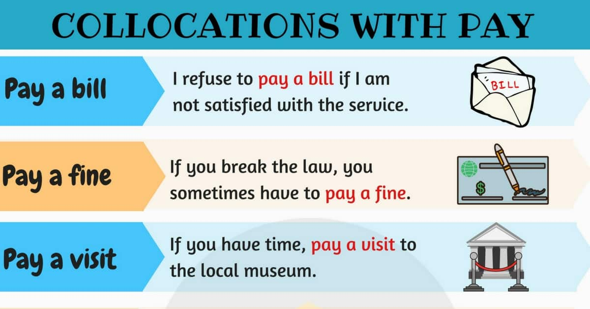 Expressions with PAY: 10 Useful Collocations with PAY 1