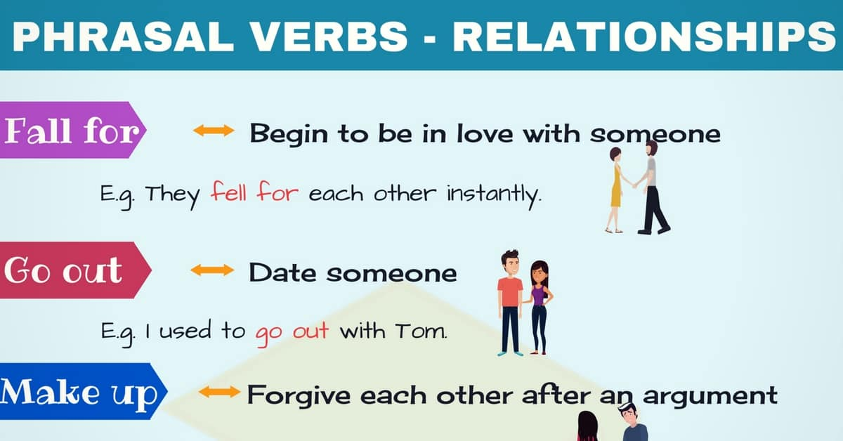 Relationship Phrases: Useful Phrasal Verbs about Relationships 8