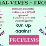 Useful Phrasal Verbs for Problems in English