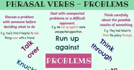 Useful Phrasal Verbs for Problems in English 7