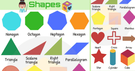 Shapes Vocabulary in English | Learn Shape Names 147