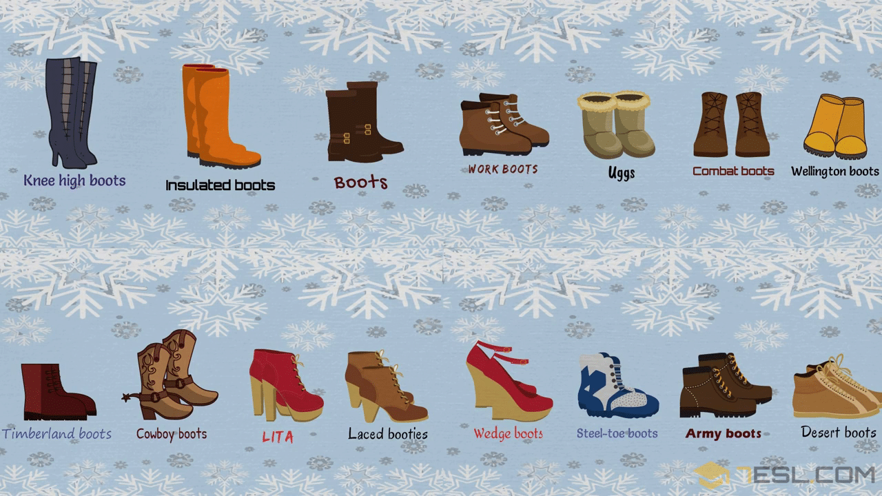 Types of Boots: Useful Boot Names with Pictures
