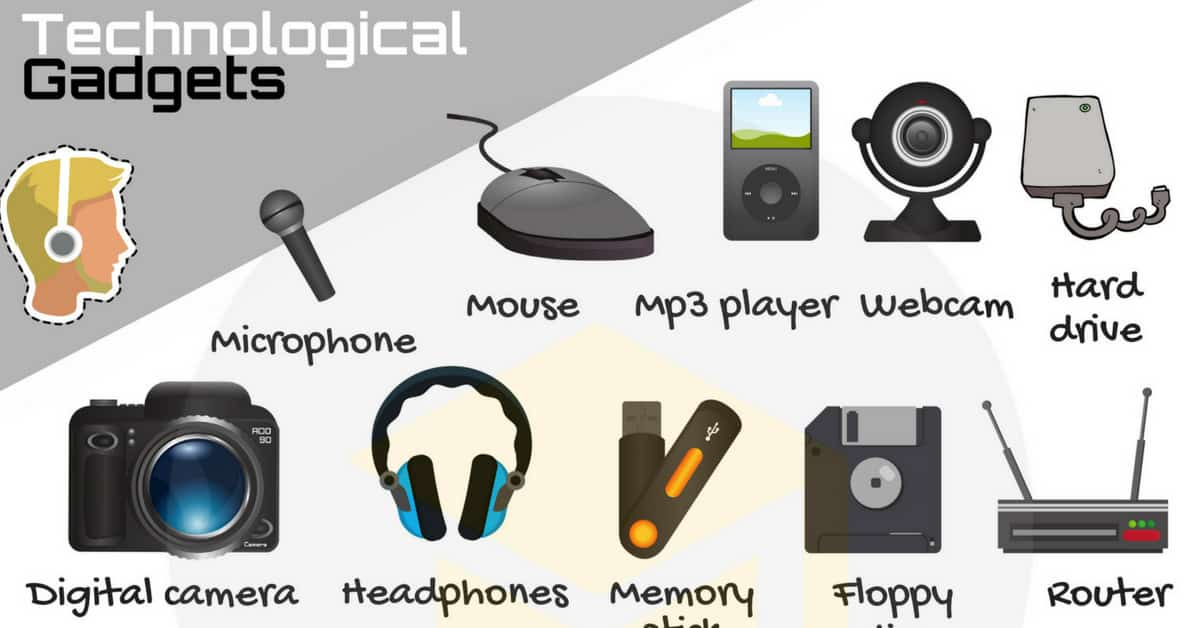 Technology Vocabulary: List of Tech Gadgets with Pictures 1