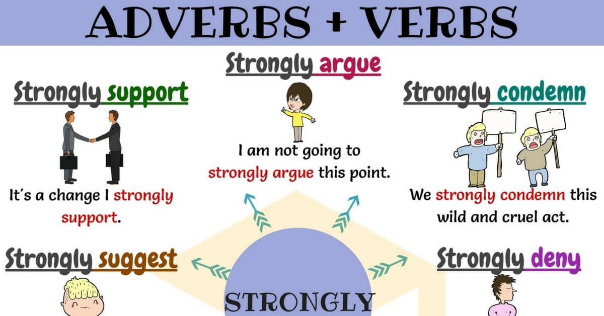 Adverb and Verb: 12 Common Adverb Verb Collocations 1