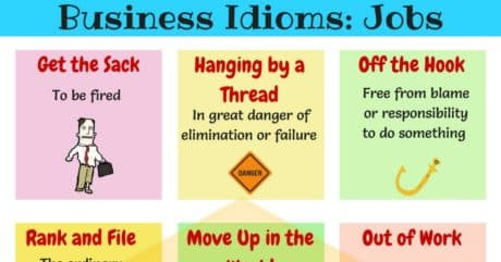 10+ Useful Idioms Related to Jobs in English | Learn Job Idioms 5