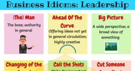 15+ Common Idioms about Leadership in English 4
