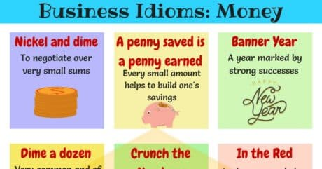 10 Popular Idioms about Money and Finance in English 3