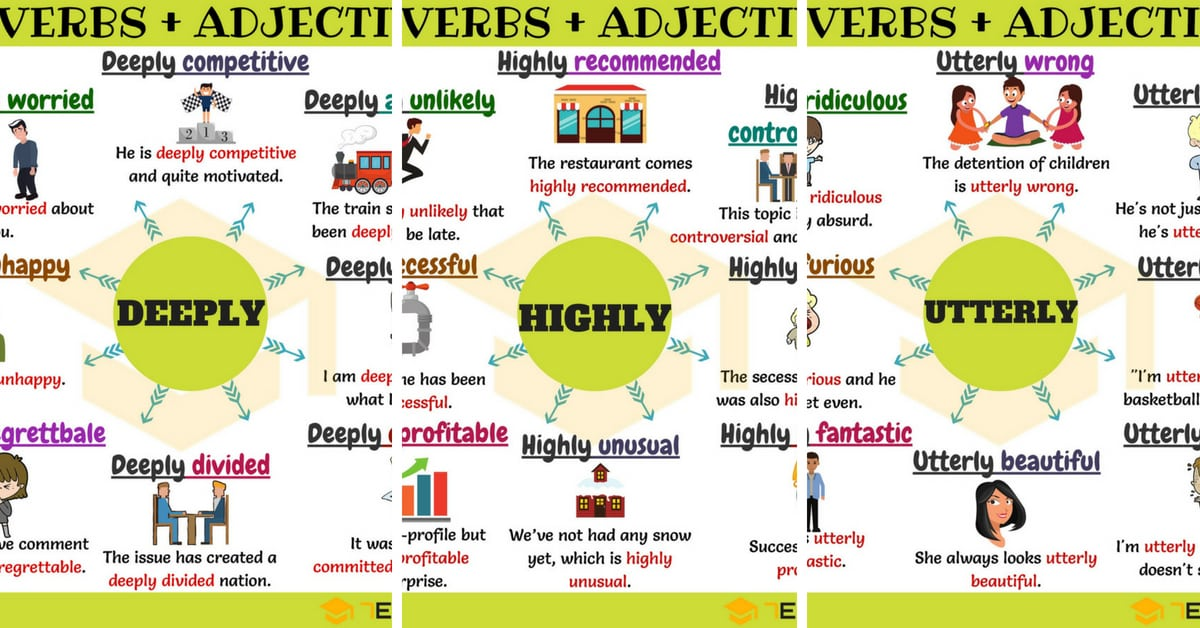 Adverbs and Adjectives: 75 Useful Adverb Adjective Collocations 9