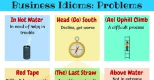 10+Useful English Idioms for Problems and Difficulties