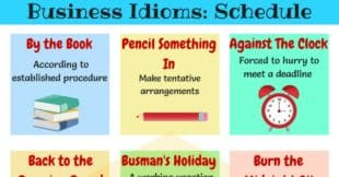 20+ Business English Idioms about Schedules and Planning