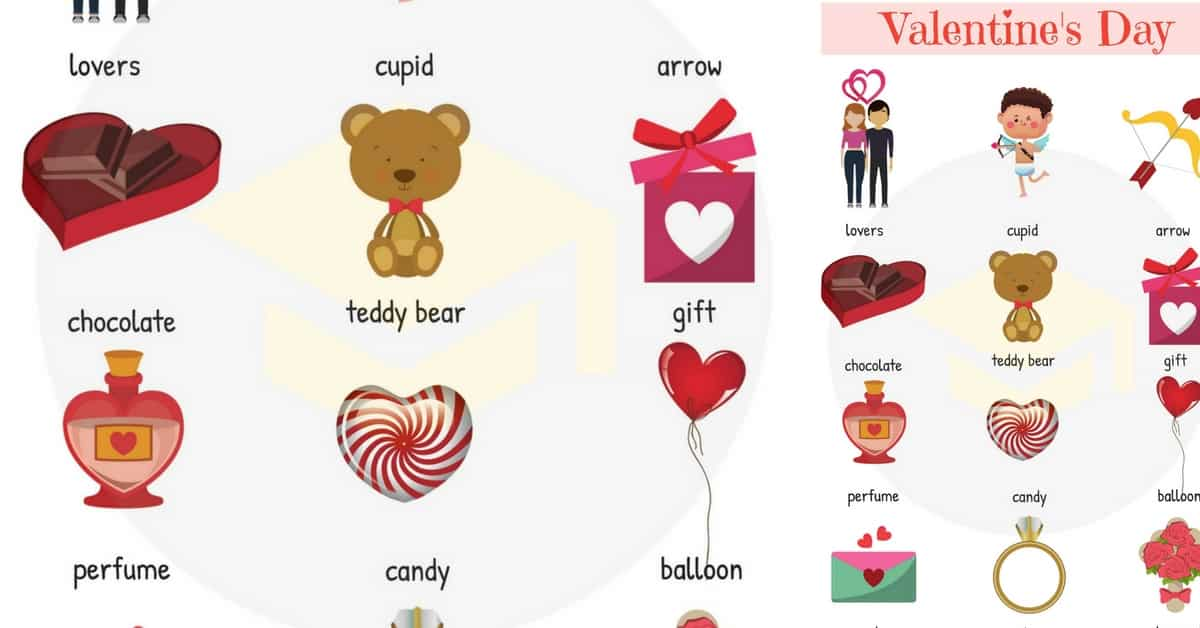 Learn Valentine's Day Vocabulary in English 171