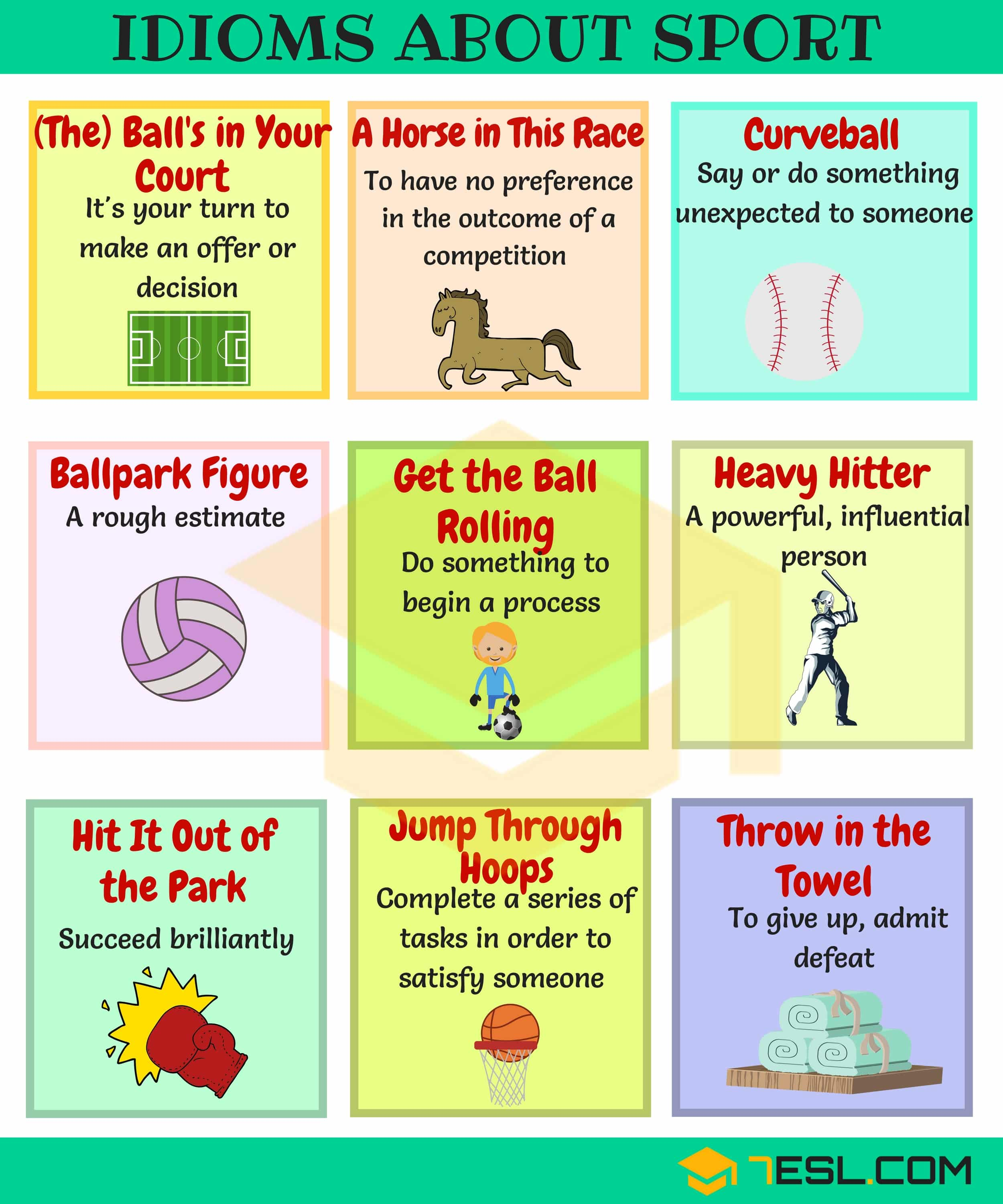 List of 45+ Commonly Used Sport Idioms in English