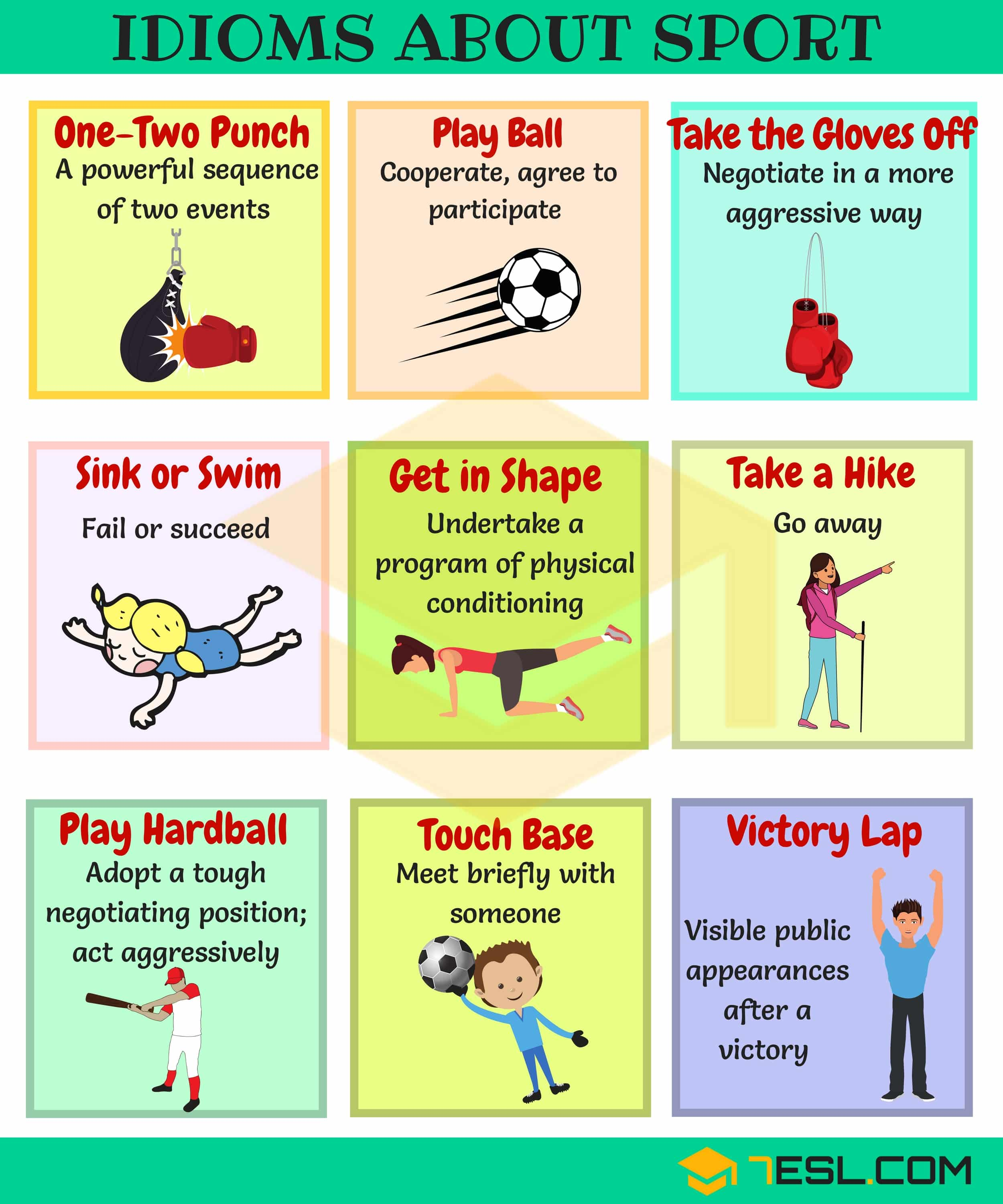 Useful Sport Idioms in English | Image 1