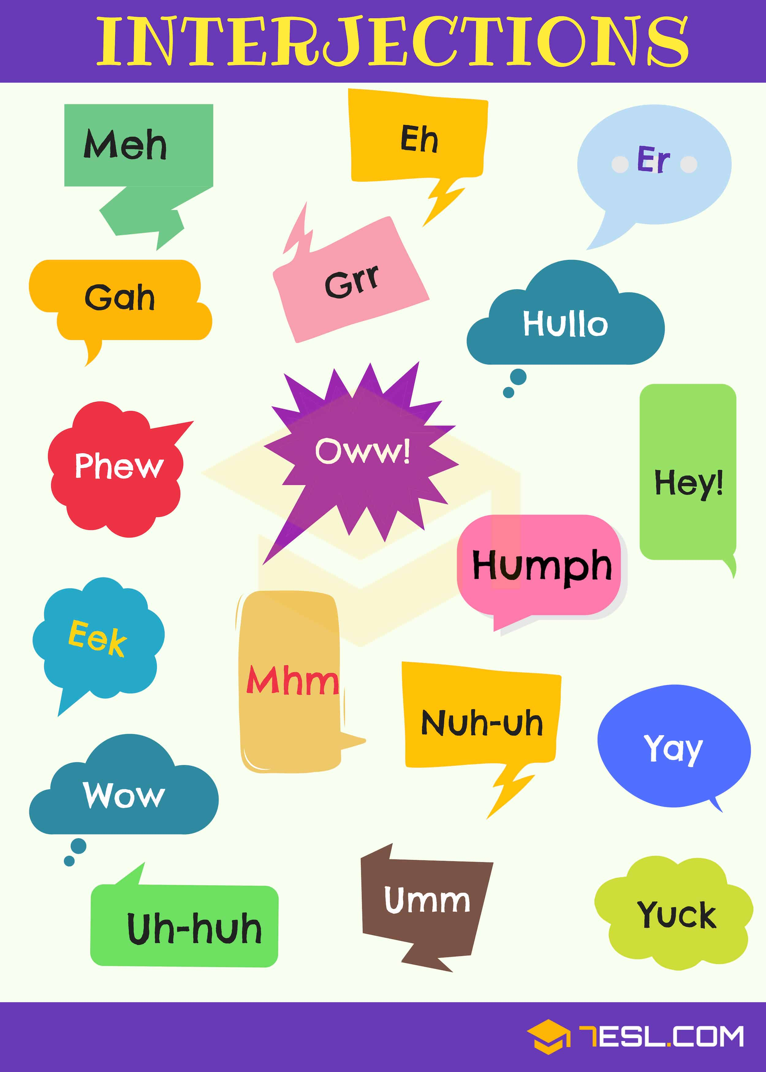 List of 60+ Interjections with Definition & Useful Examples