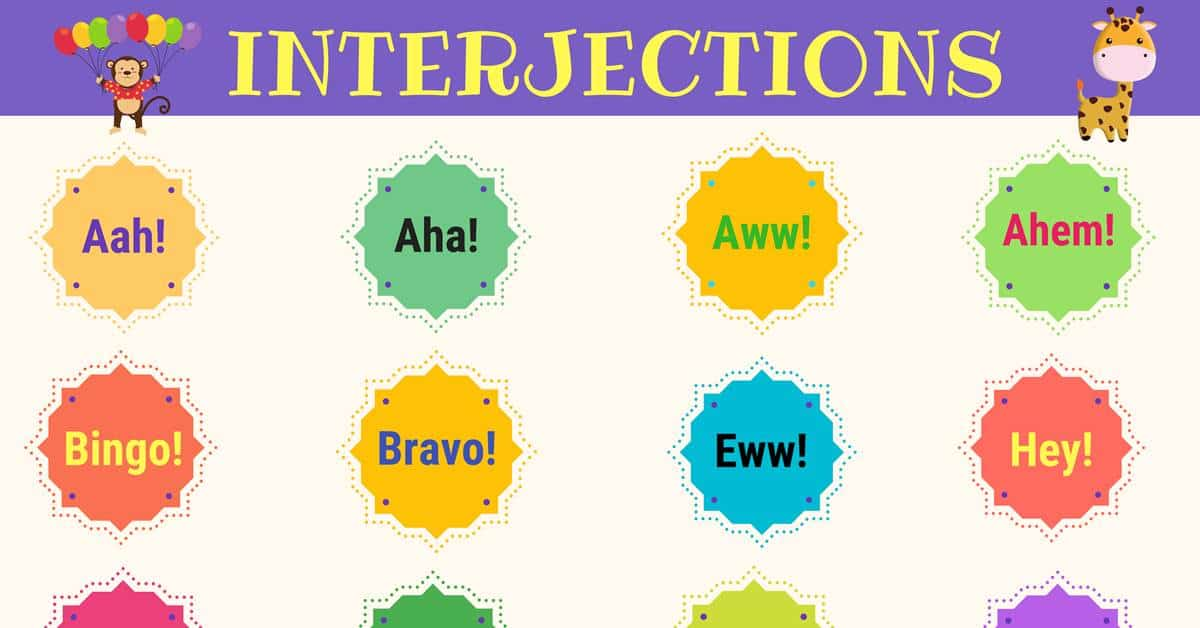 List of 60+ Interjections with Definition & Useful Examples 1