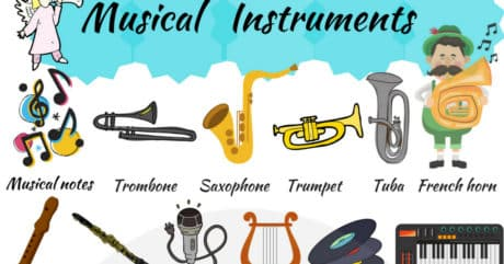 Musical Instruments Vocabulary in English 214