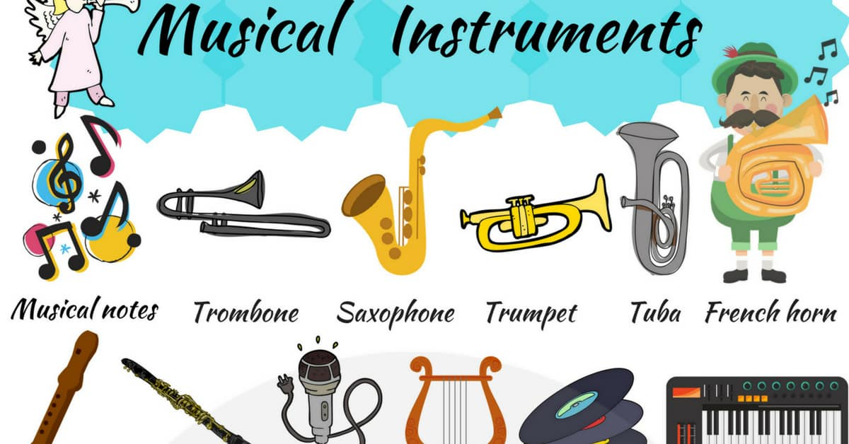 Musical Instruments Vocabulary in English 115