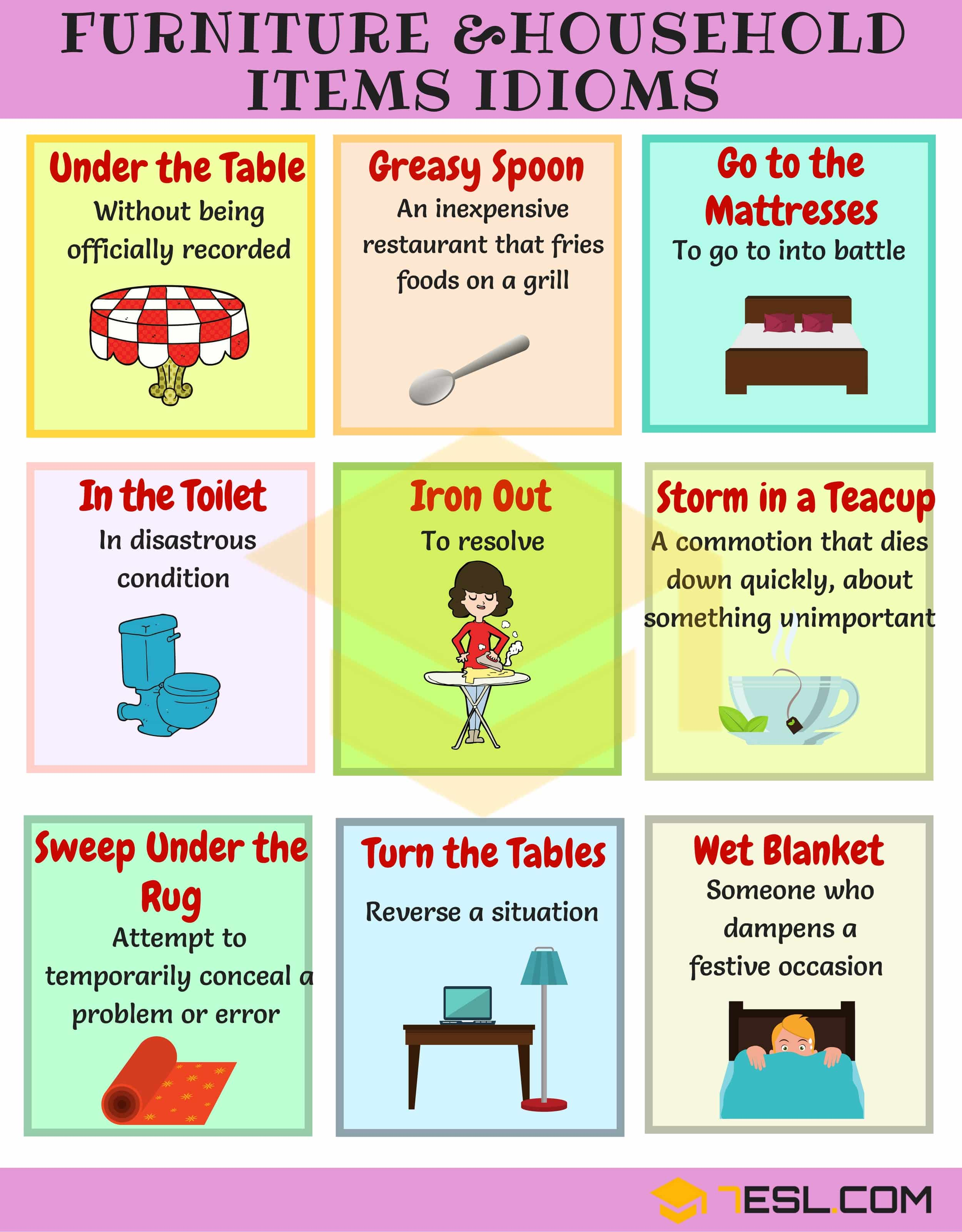 Useful Idioms about Building and Technology in English 4