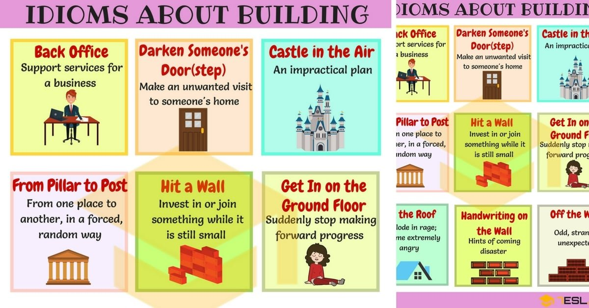 Building Idioms: 10+ Phrases & Idioms Related to Building 1