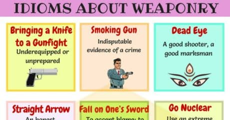 25+ Useful Weapons Idioms with Meaning and Examples 7