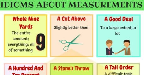 15+Useful Idioms about Measurement in English 6