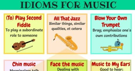 30 Commonly Used Music Idioms in English 1