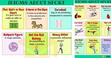 List of 45+ Commonly Used Sport Idioms in English 8
