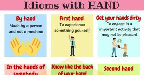 25+ Useful Idioms with Hand You Should Know 60
