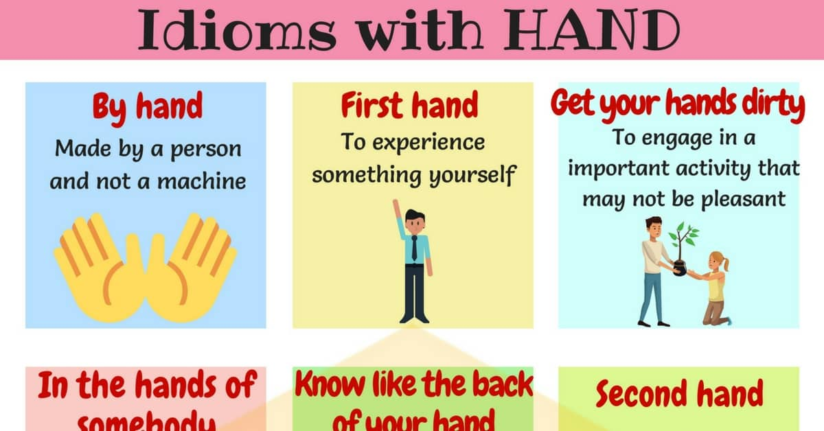 HAND Idioms: 25+ Useful Idioms & Sayings about Hands 1