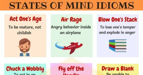 30+ Useful Idioms to Express Feelings and Emotions 17