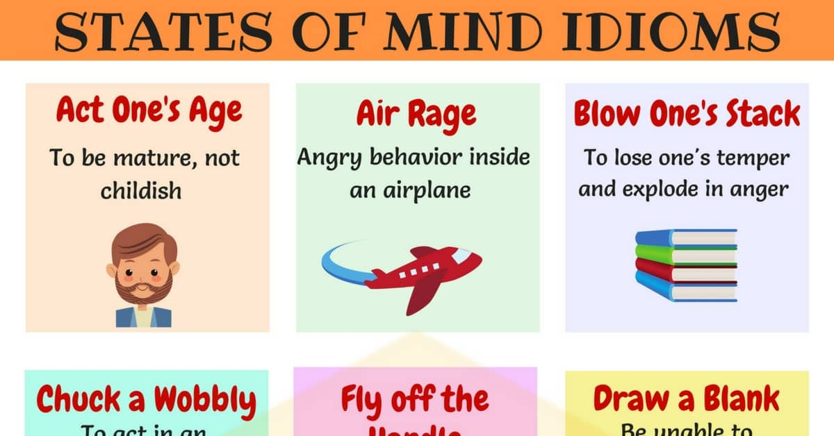 30+ Useful Idioms to Express Feelings and Emotions 1